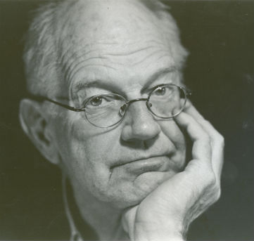 Harry de Graaf: Ereburger Gemeente Texel, jurylid en voormalig hoofdredacteur Texelse Courant - Foto Theo Broekman (2010)