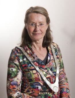 Burgemeester en juryvoorzitter Francine Giskes